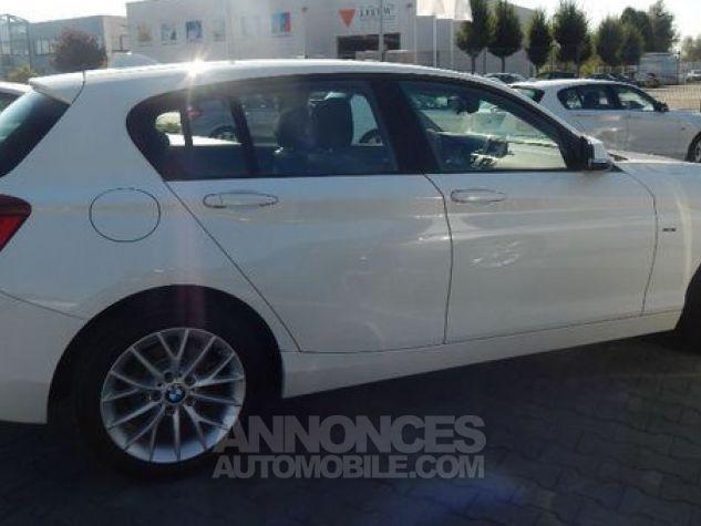 BMW Série 1 BMW 118d Urban Line 143cv Toit ouvrant Blanc Alpin Occasion - 1