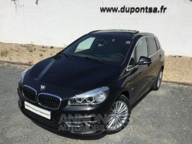 BMW Série 2 216dA 116ch Luxury Saphirschwarz Métal Occasion - 0