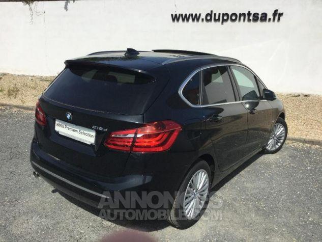 BMW Série 2 216dA 116ch Luxury Saphirschwarz Métal Occasion - 1