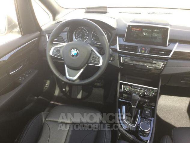 BMW Série 2 216dA 116ch Luxury Saphirschwarz Métal Occasion - 4