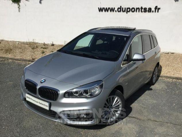 BMW Série 2 216dA 116ch Luxury Glaciersilber métallisée Occasion - 0