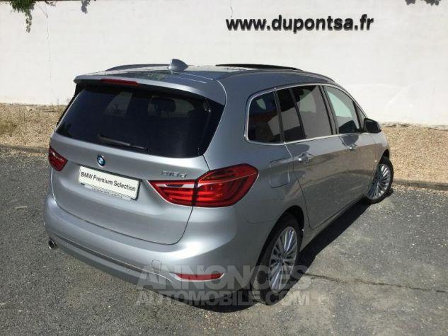 BMW Série 2 216dA 116ch Luxury Glaciersilber métallisée Occasion - 1