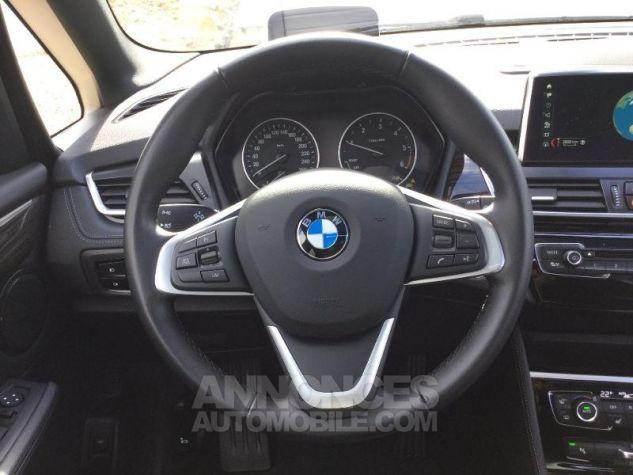 BMW Série 2 216dA 116ch Luxury Saphirschwarz Métal Occasion - 8