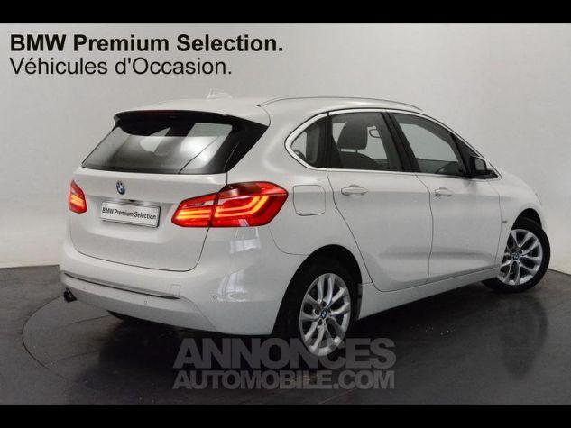 BMW Série 2 216dA 116ch Luxury Alpinweiss Occasion - 1