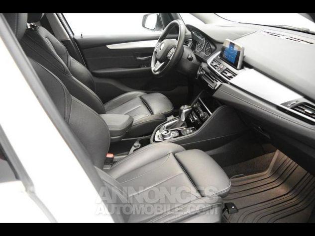 BMW Série 2 216dA 116ch Luxury Alpinweiss Occasion - 3