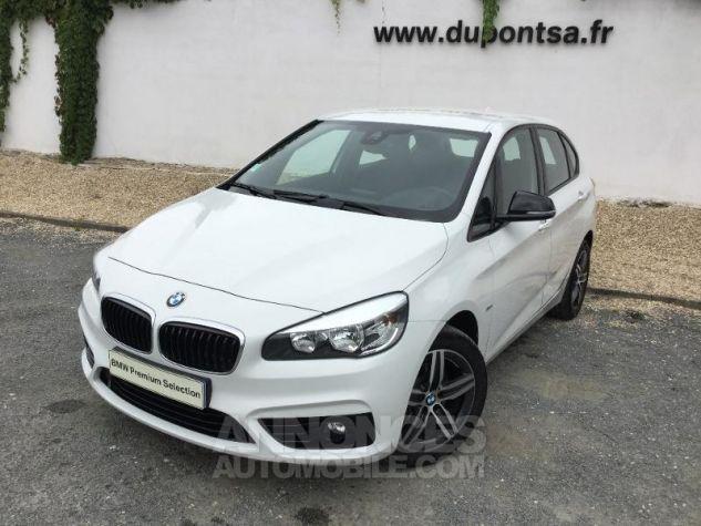 BMW Série 2 216dA 116ch Sport BLANC Occasion - 0
