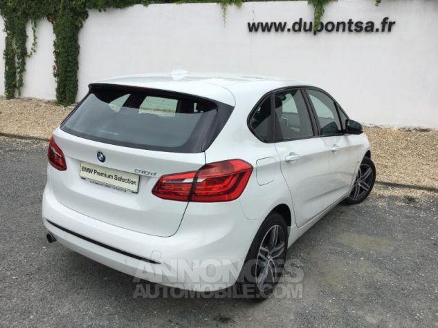 BMW Série 2 216dA 116ch Sport BLANC Occasion - 1