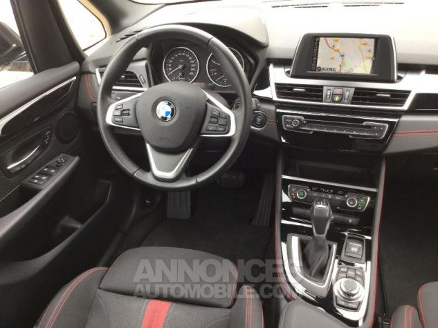 BMW Série 2 216dA 116ch Sport BLANC Occasion - 4