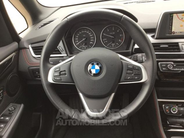 BMW Série 2 216dA 116ch Sport BLANC Occasion - 5