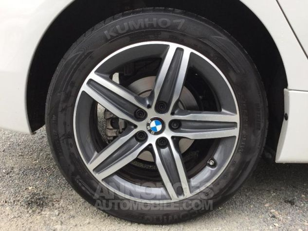 BMW Série 2 216dA 116ch Sport BLANC Occasion - 11