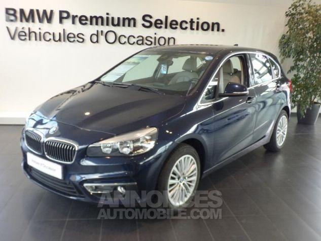BMW Série 2 218d 150ch Luxury Imperialblau brillant metallis Occasion - 0