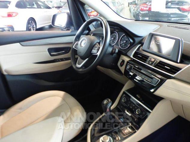 BMW Série 2 218d 150ch Luxury Imperialblau brillant metallis Occasion - 2