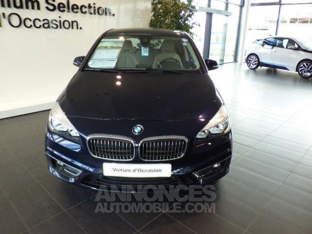 BMW Série 2 218d 150ch Luxury Imperialblau brillant metallis Occasion - 3