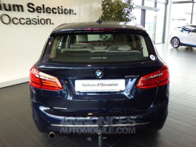 BMW Série 2 218d 150ch Luxury Imperialblau brillant metallis Occasion - 4