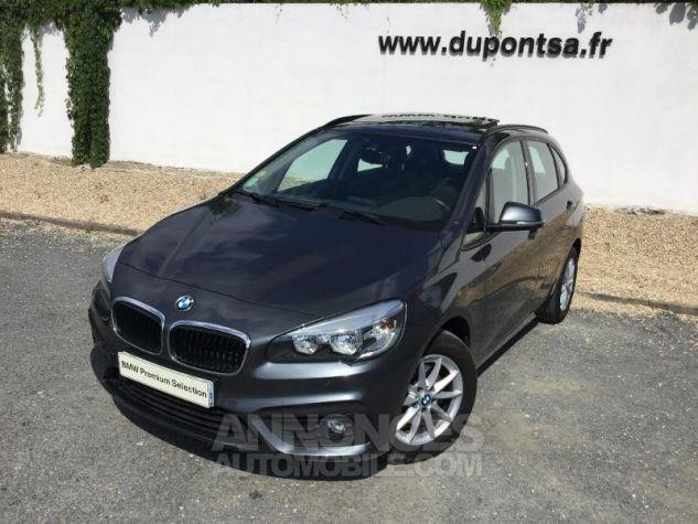 BMW Série 2 218dA 150ch Lounge Mineralgrau metallise Occasion - 0