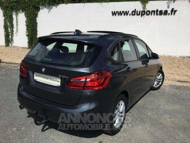 BMW Série 2 218dA 150ch Lounge Mineralgrau metallise Occasion - 1