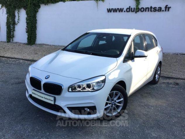 BMW Série 2 218dA 150ch Lounge BLANC Occasion - 0