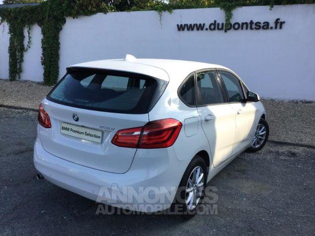 BMW Série 2 218dA 150ch Lounge BLANC Occasion - 1