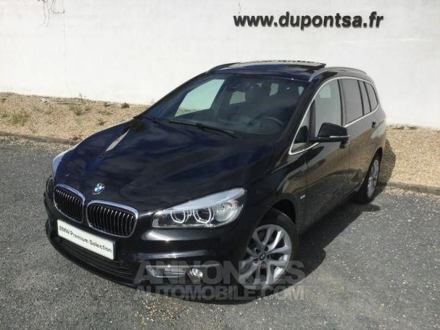 BMW Série 2 218dA 150ch Luxury Saphirschwarz Métal Occasion - 0