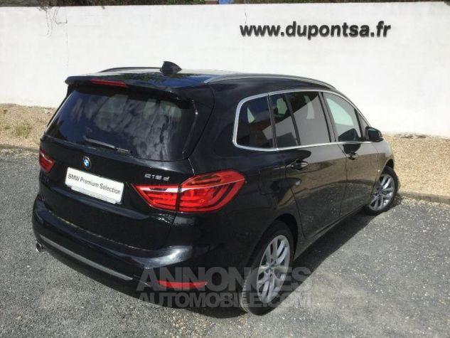 BMW Série 2 218dA 150ch Luxury Saphirschwarz Métal Occasion - 1