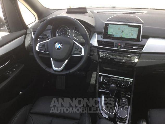 BMW Série 2 218dA 150ch Luxury Saphirschwarz Métal Occasion - 4