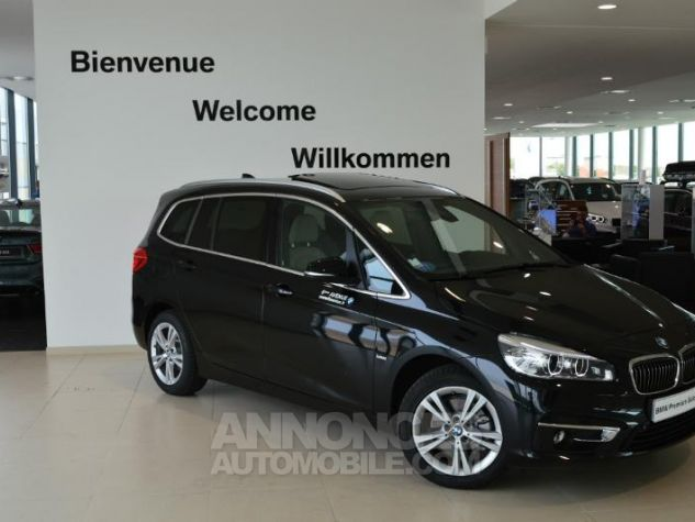 BMW Série 2 218dA 150ch Luxury Saphirschwarz metallise Occasion - 0