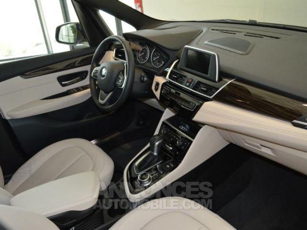BMW Série 2 218dA 150ch Luxury Saphirschwarz metallise Occasion - 3