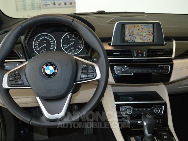 BMW Série 2 218dA 150ch Luxury Saphirschwarz metallise Occasion - 4