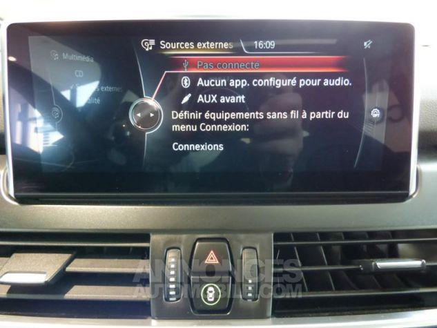 BMW Série 2 218dA 150ch Luxury Glaciersilber metallisee Occasion - 8