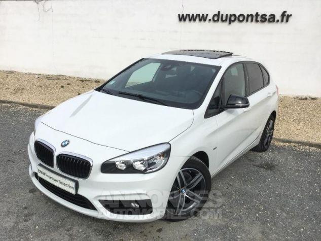 BMW Série 2 218iA 136ch Sport BLANC Occasion - 0