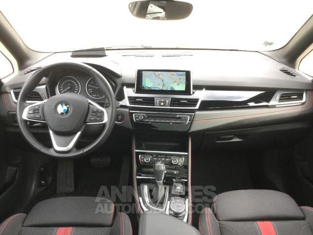 BMW Série 2 218iA 136ch Sport BLANC Occasion - 3