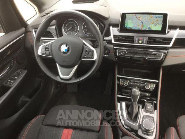 BMW Série 2 218iA 136ch Sport BLANC Occasion - 4