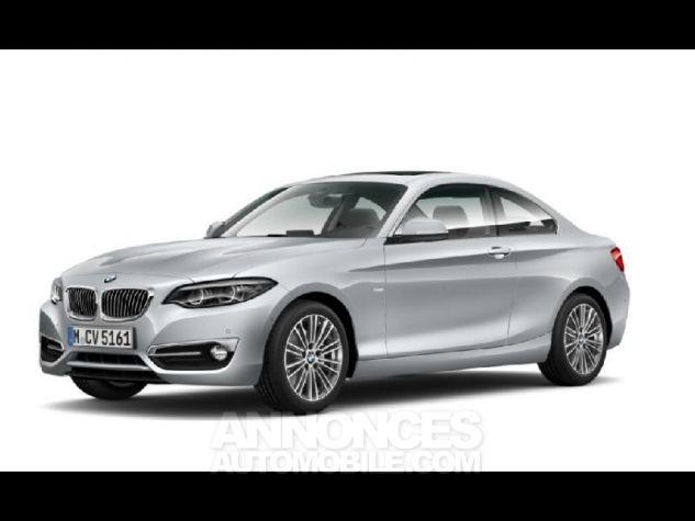 BMW Série 2 220dA 190ch Luxury Glaciersilber metallise Neuf - 1