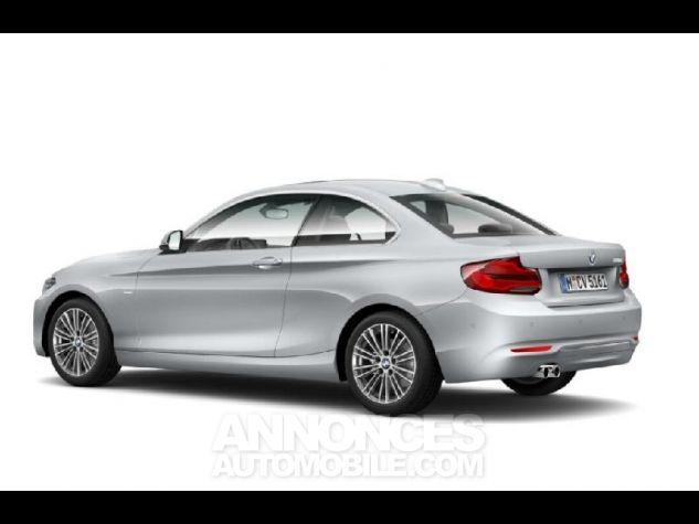 BMW Série 2 220dA 190ch Luxury Glaciersilber metallise Neuf - 2