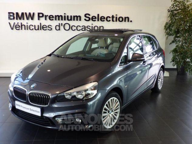 BMW Série 2 220dA xDrive 190ch Luxury GRIS F Occasion - 0