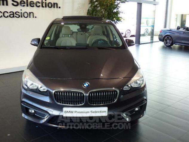 BMW Série 2 220dA xDrive 190ch Luxury GRIS F Occasion - 4