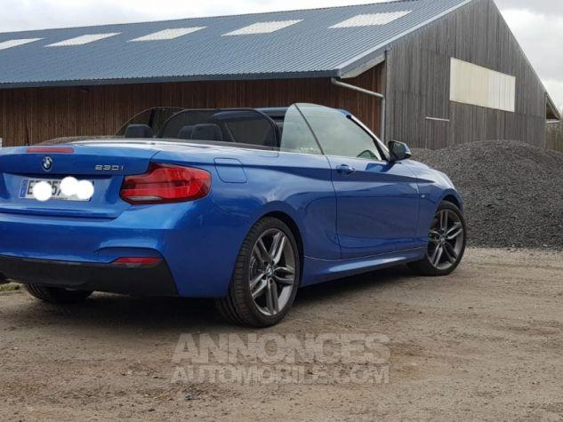 BMW Série 2 230iA bleu estoril Occasion - 2