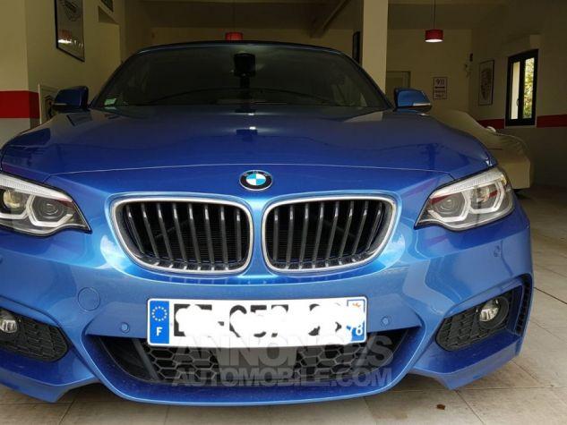 BMW Série 2 230iA bleu estoril Occasion - 5