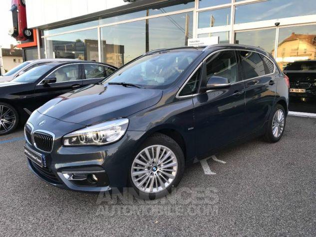BMW Série 2 ActiveTourer 218dA 150ch Luxury Atlantikgrau metallise Occasion - 0