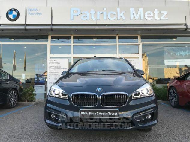 BMW Série 2 ActiveTourer 218dA 150ch Luxury Atlantikgrau metallise Occasion - 2