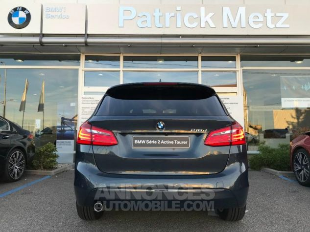 BMW Série 2 ActiveTourer 218dA 150ch Luxury Atlantikgrau metallise Occasion - 3