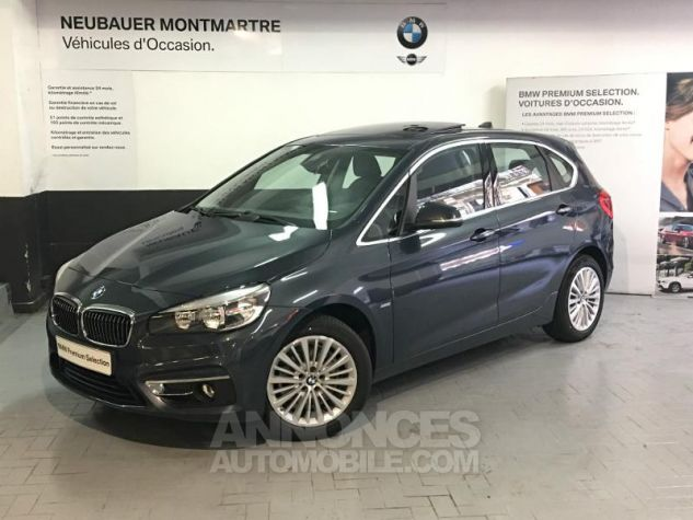 BMW Série 2 ActiveTourer 218dA 150ch Luxury Atlantikgrau metallise Neuf - 0