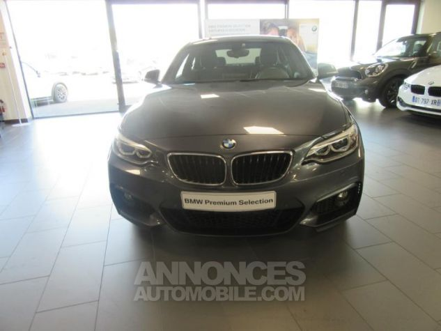 BMW Série 2 Coupe 220dA 184ch M Sport Mineralgrau metallise Occasion - 3