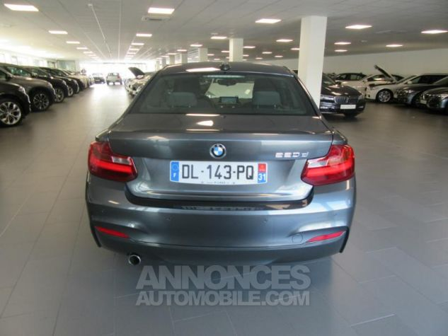 BMW Série 2 Coupe 220dA 184ch M Sport Mineralgrau metallise Occasion - 5