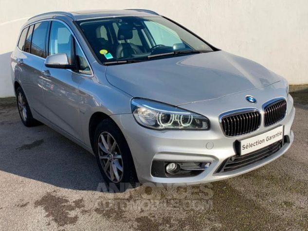 BMW Série 2 Gran Tourer 218dA 150 Luxury Gris Occasion - 0