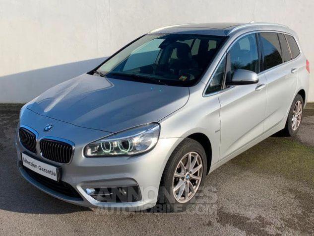 BMW Série 2 Gran Tourer 218dA 150 Luxury Gris Occasion - 2