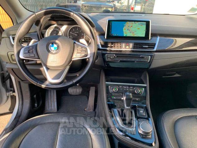 BMW Série 2 Gran Tourer 218dA 150 Luxury Gris Occasion - 8