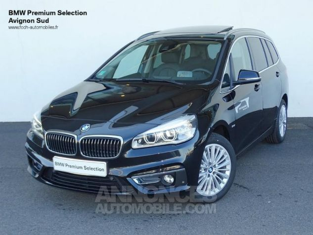 BMW Série 2 Gran Tourer 218dA 150ch Luxury Edition Hello Future Saphirschwarz  metallise Occasion - 0