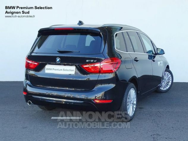 BMW Série 2 Gran Tourer 218dA 150ch Luxury Edition Hello Future Saphirschwarz  metallise Occasion - 1