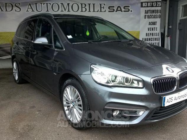 BMW Série 2 GRAN TOURER 220D 190 CH Luxury A Gris Occasion - 0